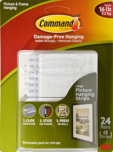 Command Picture Frame Hanging Strips Large 24 Pair 5902658103940